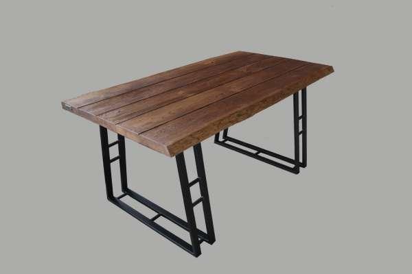 Mr. Big–Massivholz Esstisch aus Eichenholz-160x80x76cm-Hygge-LoftMarkt