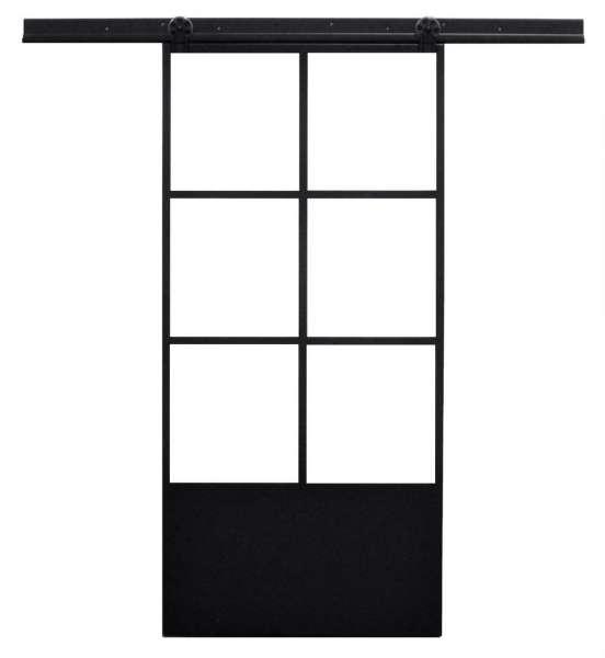 LOFT FRENCH MOD 04- Schiebetür Komplettset Stahl Glas Industrial