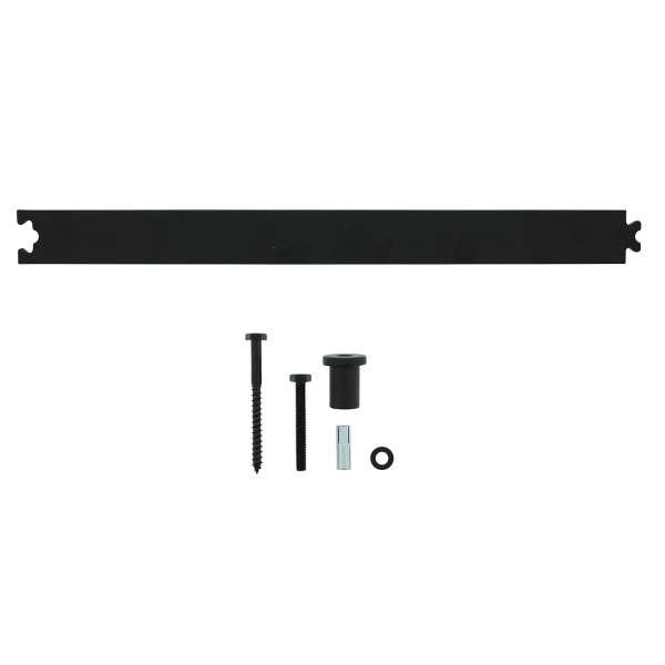 Verlängerungsschiene 45 cm für Schiebesystem in Schwarz