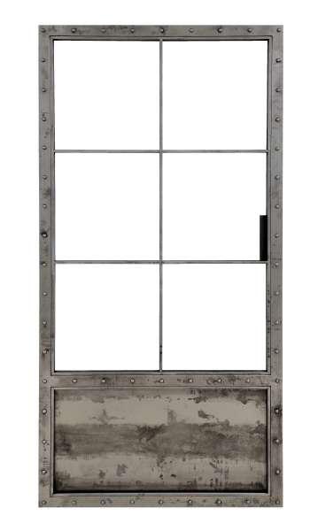 LOFT FRENCH KNASTI drzwi przesuwne ze ze szkła i stali